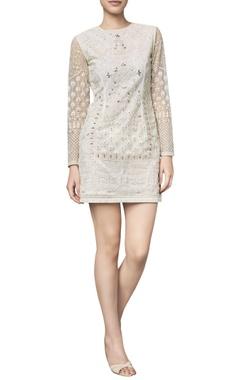 Anita Dongre Net gota patti & dori embroidered dress