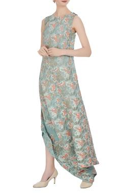 Kavita Bhartia Floral motif printed long maxi dress