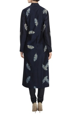 Chanderi shibori long kurta
