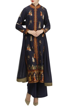 Rohit Bal Digital printed rajasthani themed kurta set