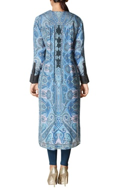 Kashmiri jamavar printed kurta