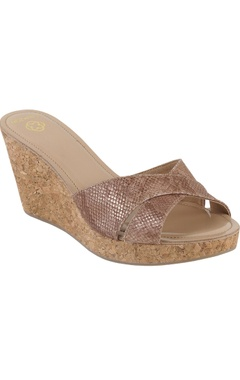 Crimzon Party cross-strap 3-inch wedges