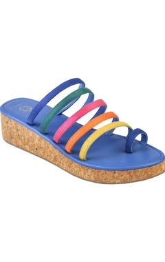 Crimzon Medium platform sandals with multiple straps