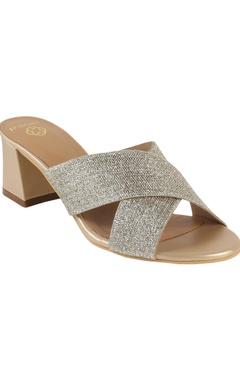Crimzon Medium cross-strap sandals