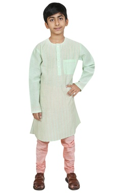 Chiquitita kids couture by Payal Bahl Threadwork embroidered kurta with churidar