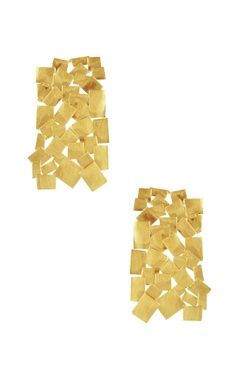 Eurumme Mosaic detail earrings