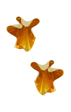 Eurumme Abstract shape earrings with screw closure