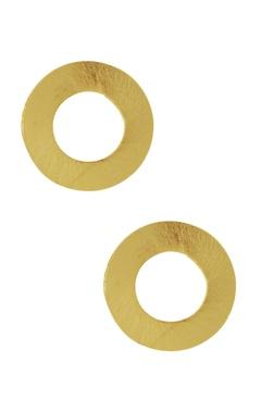 Eurumme Circular disc shape earrings