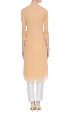 Long kurta with resham embroidery