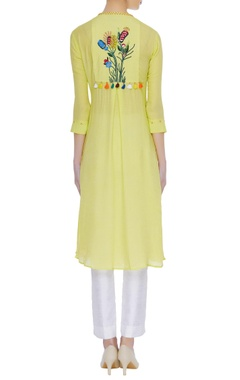 Embroidered kurta with sequin work