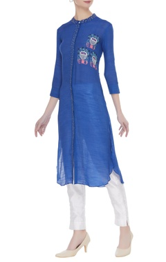 Embroiered kurta with sequin work
