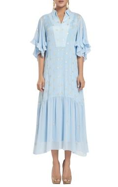 Rriso Drop waist midi dress