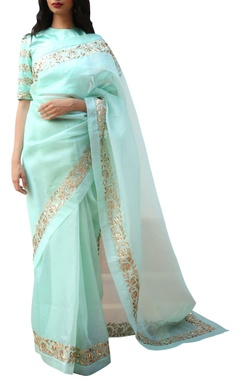 Ranian Embroidered sari with blouse
