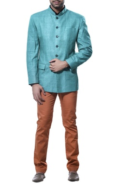 Debarun - Men Full sleeves nehru jacket