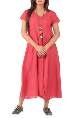 Sayantan Sarkar Asymmetric hemline dress