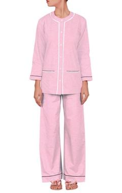 Henley full sleeve pyjama set