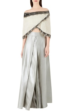 Ridhima Bhasin Embellished top with flared pants