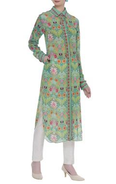 Siddhartha Bansal Floral printed tunic
