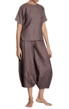 Flared panel style khadi pants