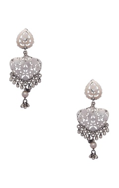 Motifs by Surabhi Didwania Pure silver earrings