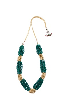 Motifs by Surabhi Didwania Layered necklace with semi precious stones