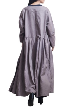 Jumpsuit with overcoat