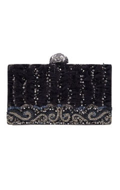Be Chic Handmade embroidered clutch