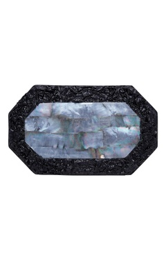 Be Chic Handmade clutch with crushed metal
