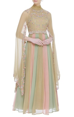 Kavita Bhartia Embroidered anarkali gown
