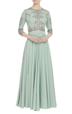Neeta Lulla Embroidered tunic with pants