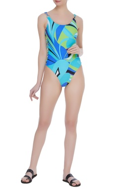 Kai Resortwear Tropical printed swimsuit