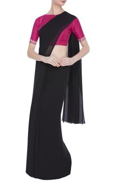 Aari work saree blouse
