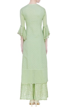 Sequin embroidered kurta set