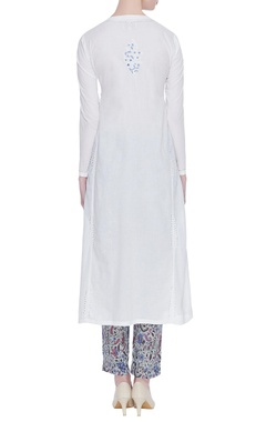 Chikankari hand embroidered kurta set