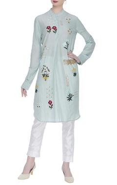 Sahil Kochhar Hand embroidered silk kurta