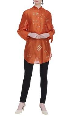 Sahil Kochhar Hand embroidered tunic embellished with sequins