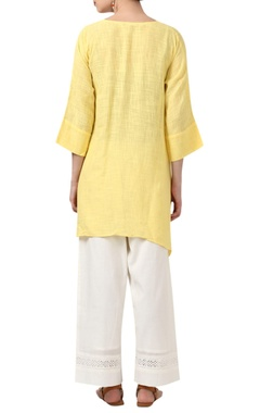 Asymmetric cotton kurta