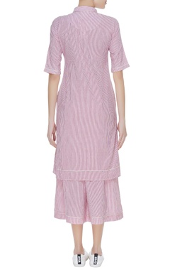 Striped kurta and culottes