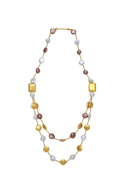 Shilpa Purii Double layered necklace