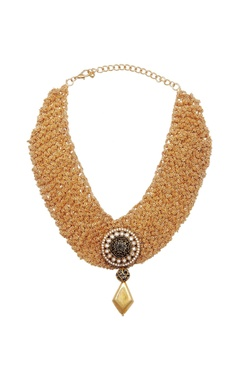 Shilpa Purii Choker with antique pendant