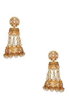 Shilpa Purii Jhumka drop earrings
