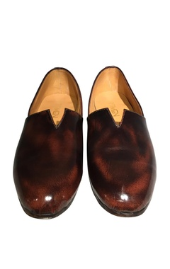 Pure leather handcrafted espadrille shoes