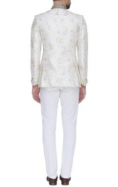 Embroidered bandhgala jacket