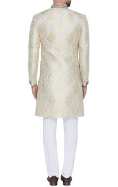Embroidered full sleeves sherwani