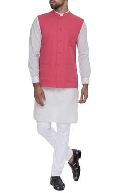 Dev R Nil - Men Sleeveless nehru jacket