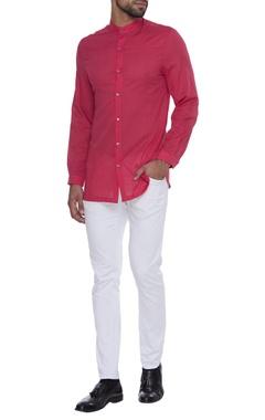 Dev R Nil - Men Cotton button down shirt