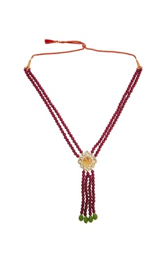 POSH By Rathore Layered bead necklace