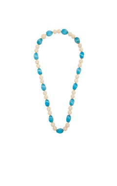 POSH By Rathore Blue beads necklace