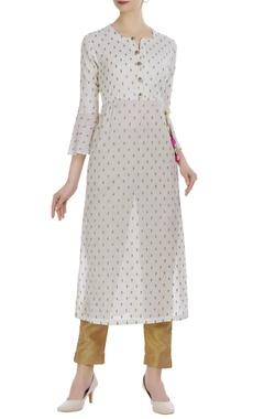 Aditi Somani Embroidered tunic with latkan