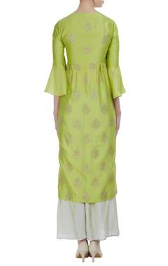 Sequin embellished kurta with pants